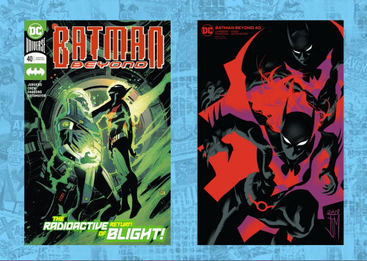 Batman Beyond #40 Cover A and B