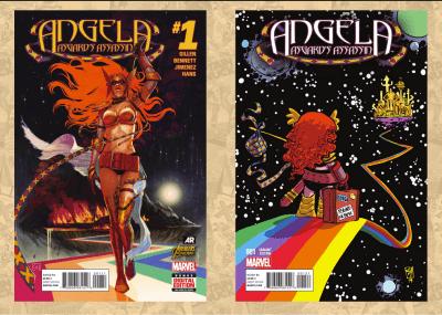 Angela Asgards Assasin #1 A