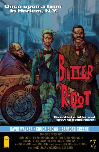 Bitter Root #7 Variant