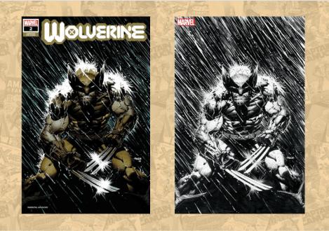 Wolverine #2 Finch variant