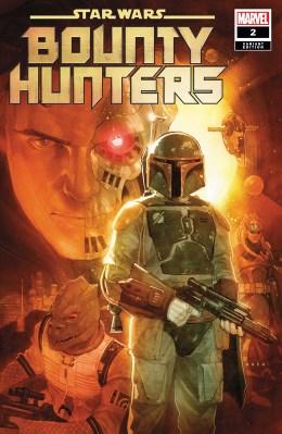 Star Wars Bounty Hunters #2 variant