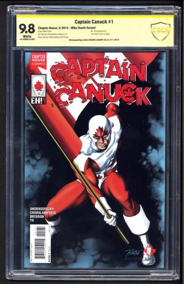 Captain Canuck #1