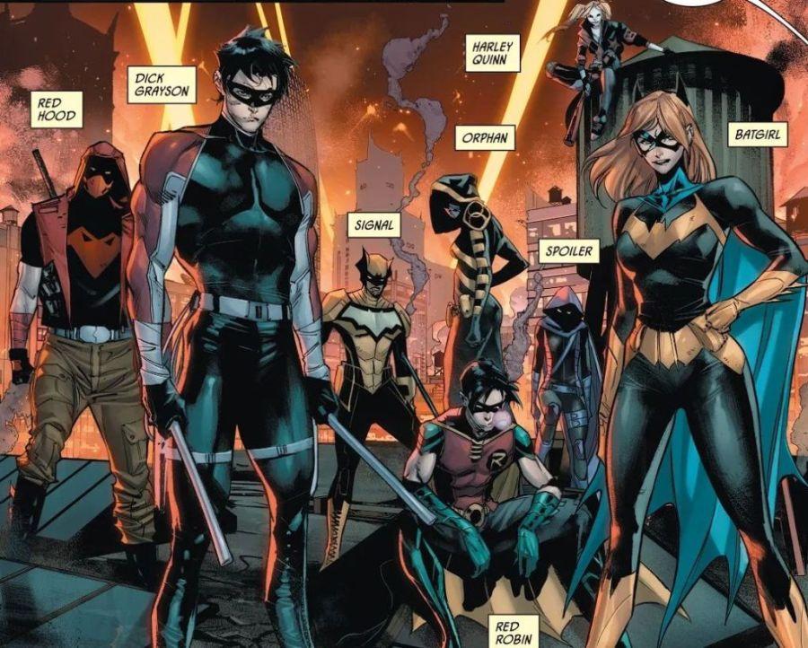 The Bat Family in Joker War
