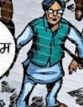 manmohan singh in raj comics dhruv