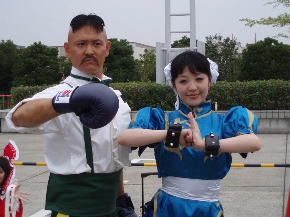 Chun Li & Dudley from Comiket 78