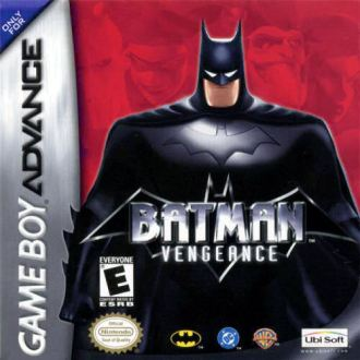 REVIEW  BATMAN  VENGEANCE  GAME BOY ADVANCE    Comic Gamers Assemble batman vengeance game boy advance cover