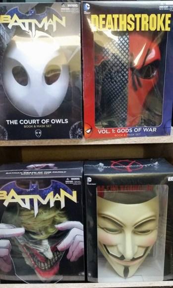 4 masques