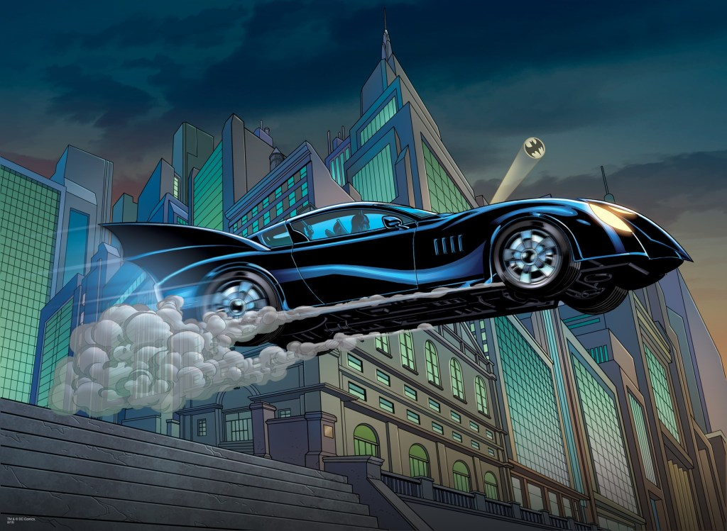 batmobile comics