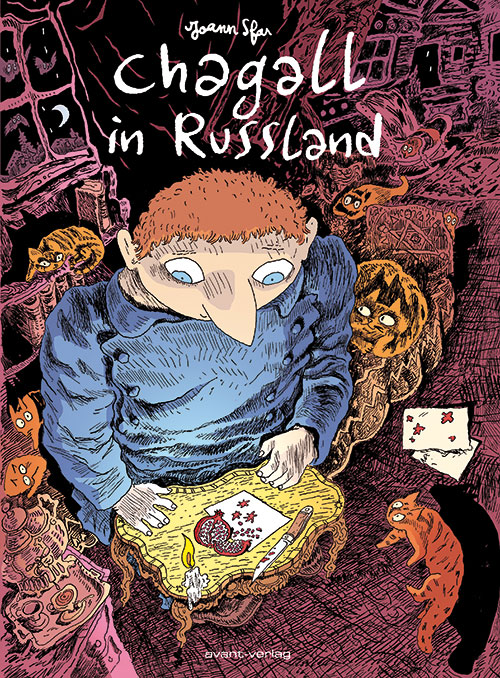 Chagall in Russland - Cover