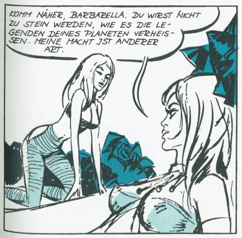 Barbarella - Pose
