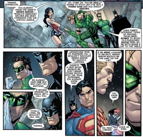 Green Arrow Tries To Join The Justice League