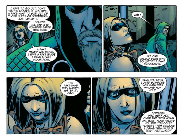 Harley Quinn on relationships