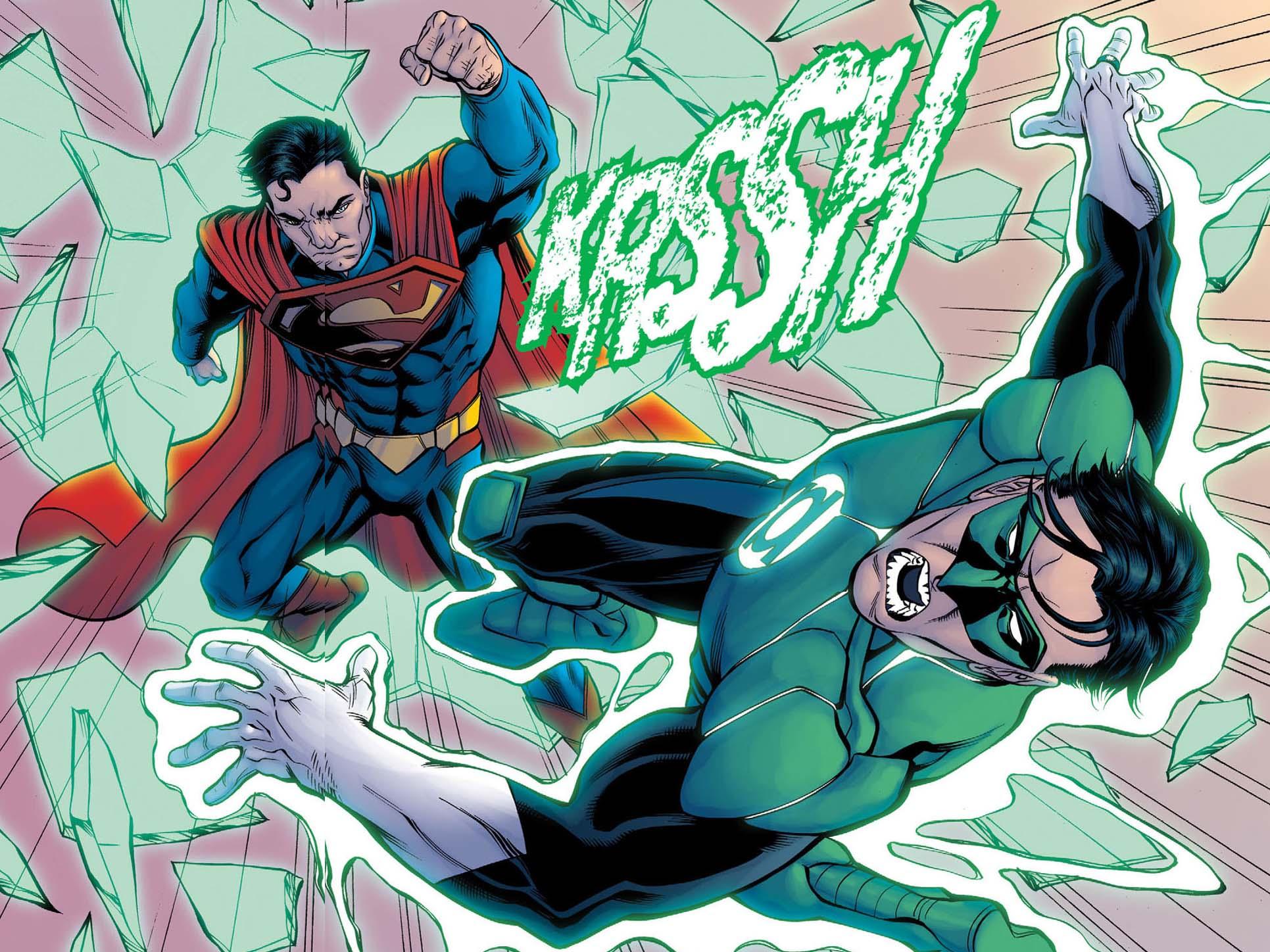La Bataille de Metropolis [LIBRE] Superman-vs-green-lantern