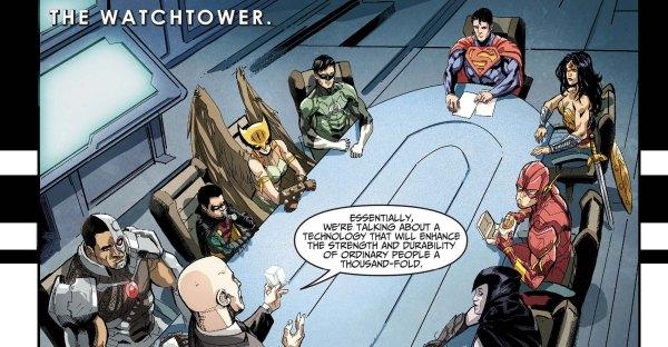 superman's team (injustice)