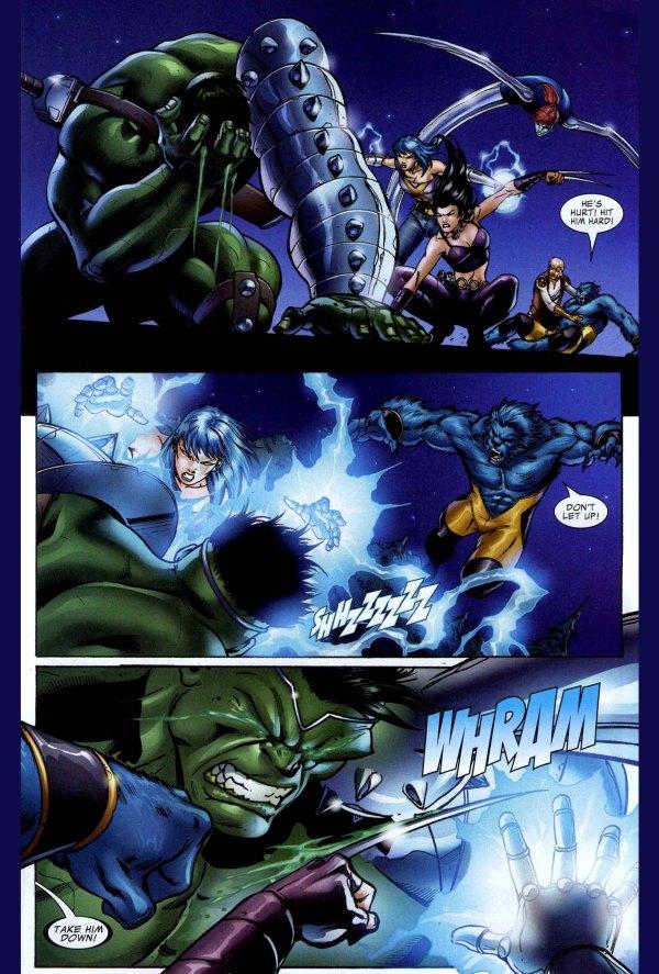 x-23 vs the hulk 2