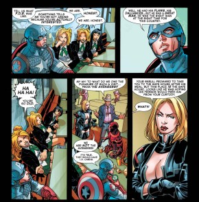 what captain america thinks of fdr