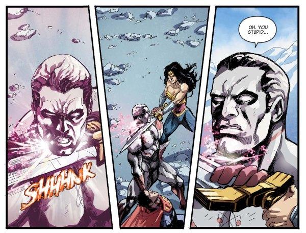 wonder woman kills captain atom