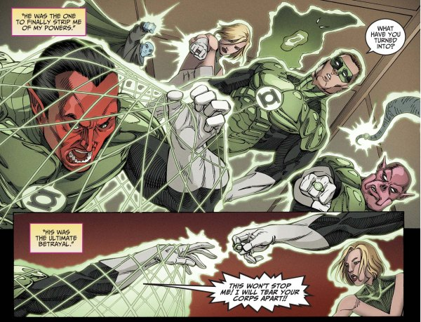 green lantern corps arrests sinestro 4