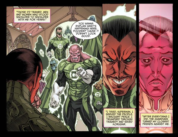 green lantern corps arrests sinestro