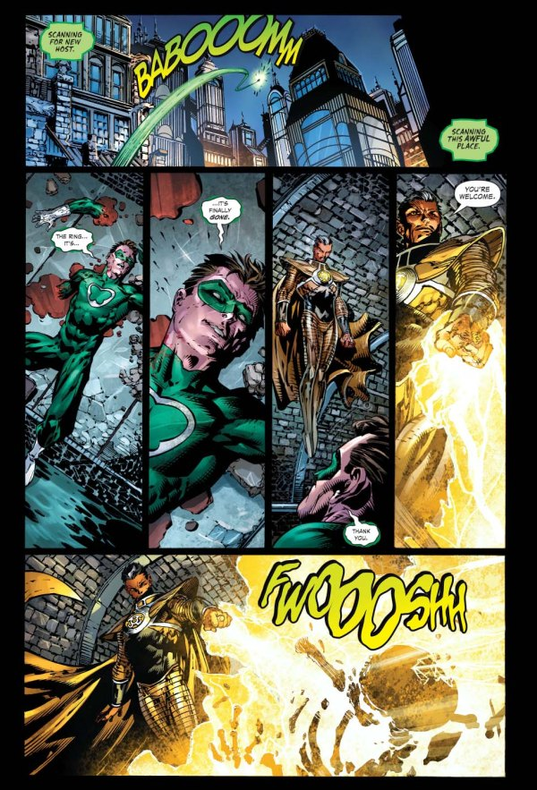 how sinestro defeated power ring 2