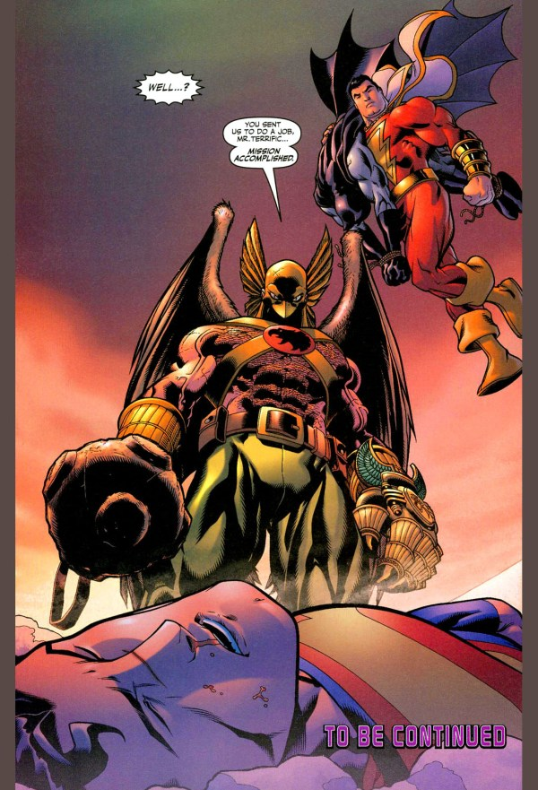 superman and batman vs hawkman and captain marvel 5