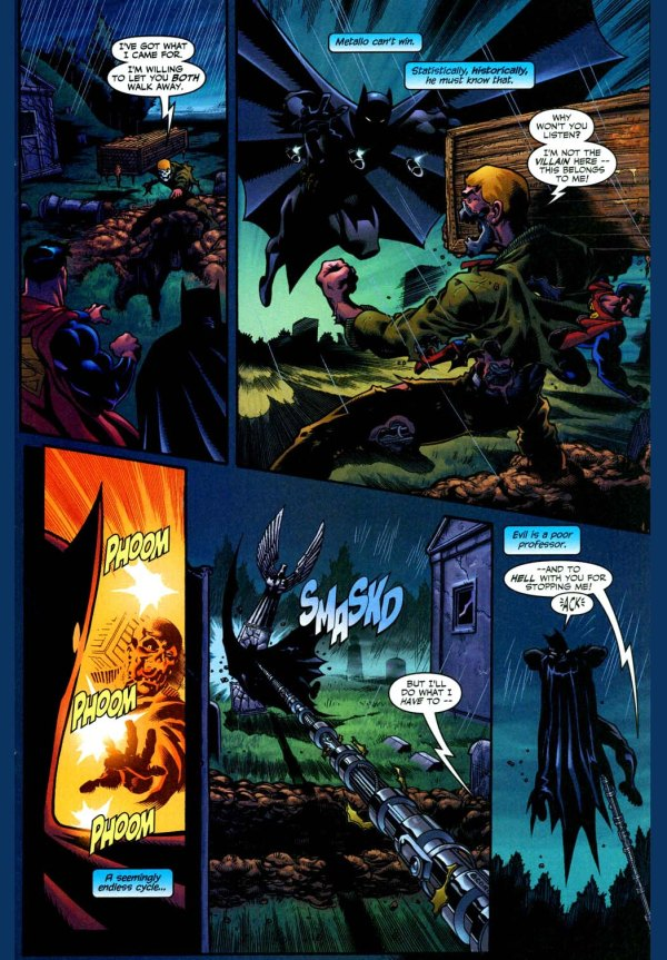 superman and batman vs metallo
