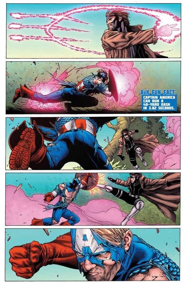 captain america vs gambit 3