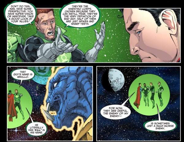 guy gardner parleys with superman 2