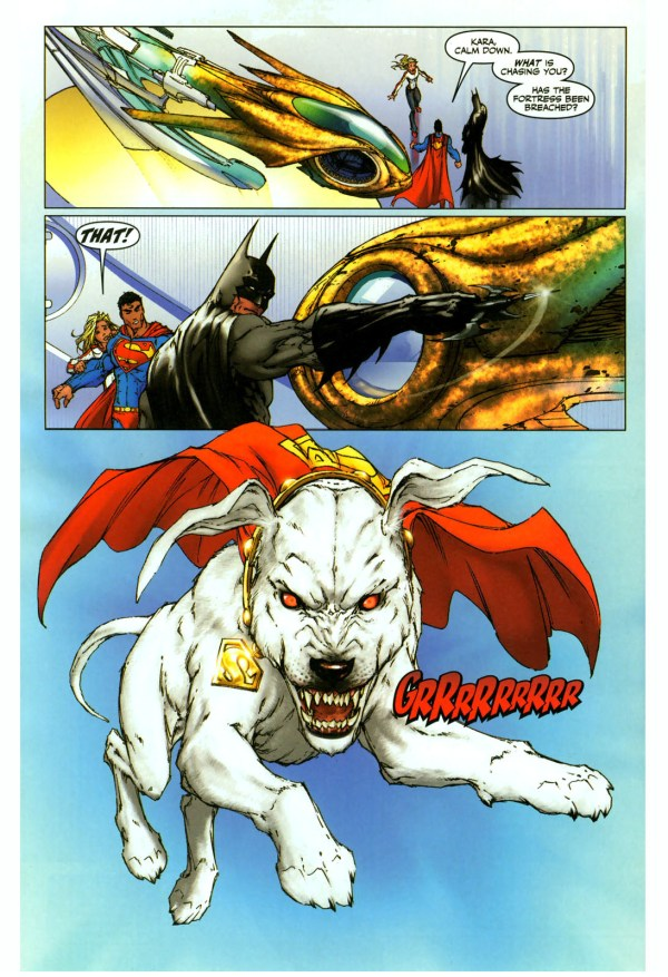 supergirl is afraid of krypto 2