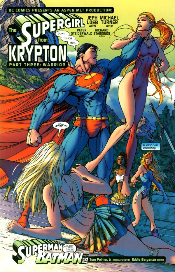 supergirl vs artemis 3