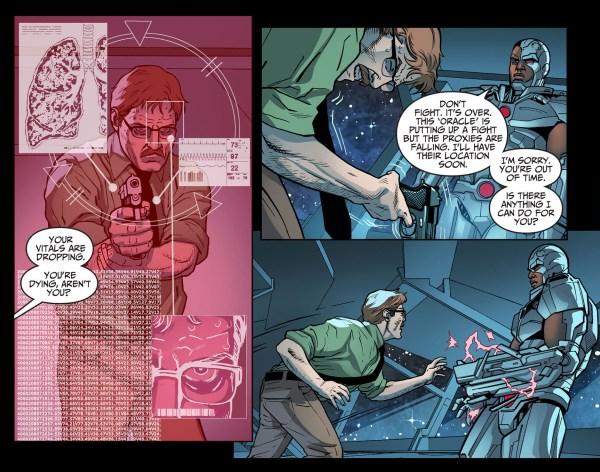 jim gordon vs cyborg 1