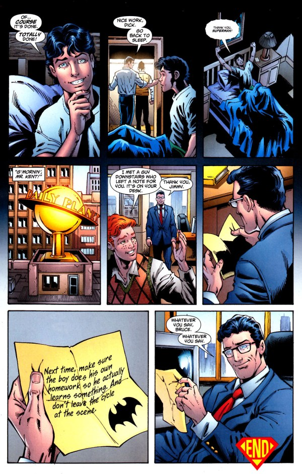 superman did robin's homework 3