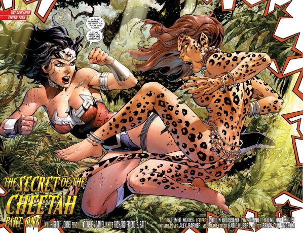 wonder woman vs the cheetah 1