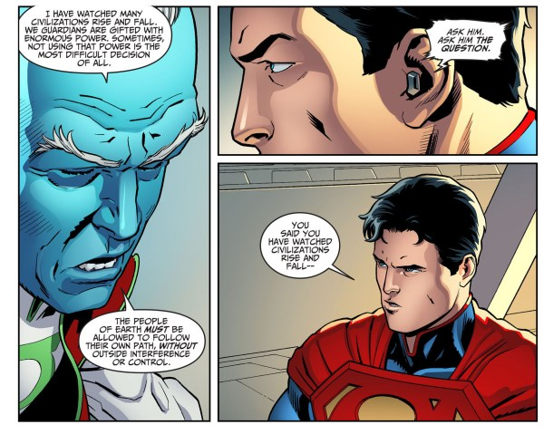 why superman doesn't trust the guardians 2