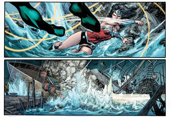 aquaman vs wonder woman (throne of atlantis)