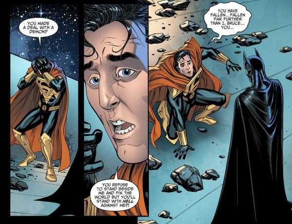 batman takes out superman