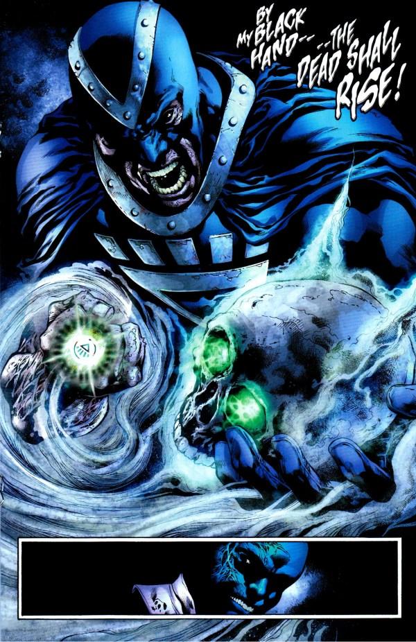 black hand steals batman's skull