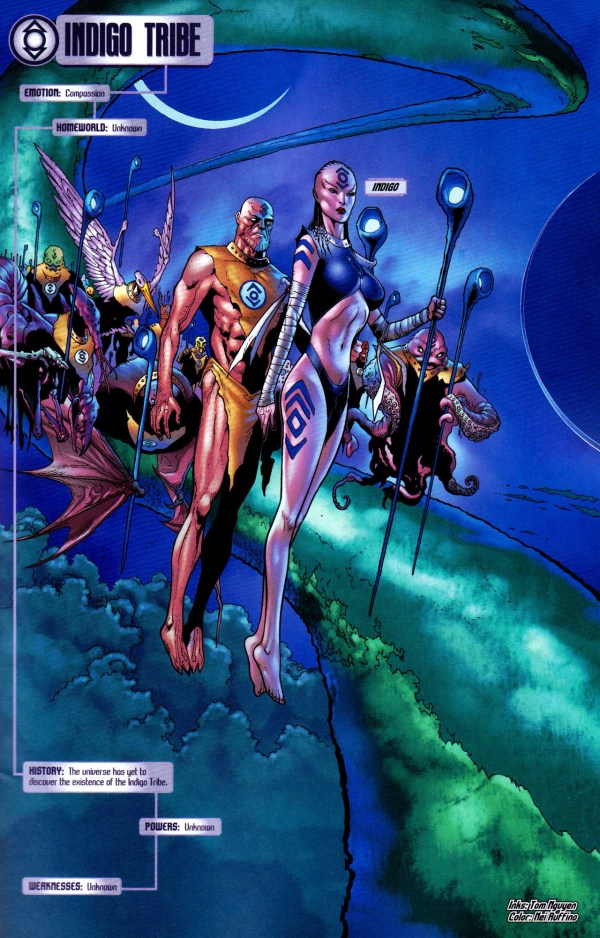 indigo tribe (blackest night)