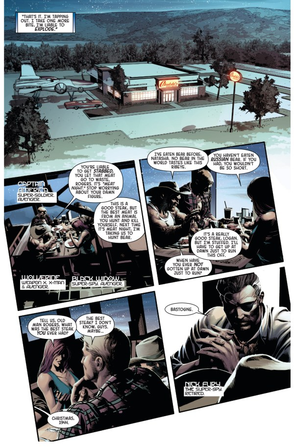 nick fury recounts his best steak