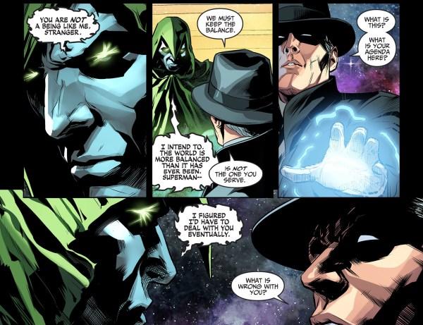 the spectre attacks the phantom stranger