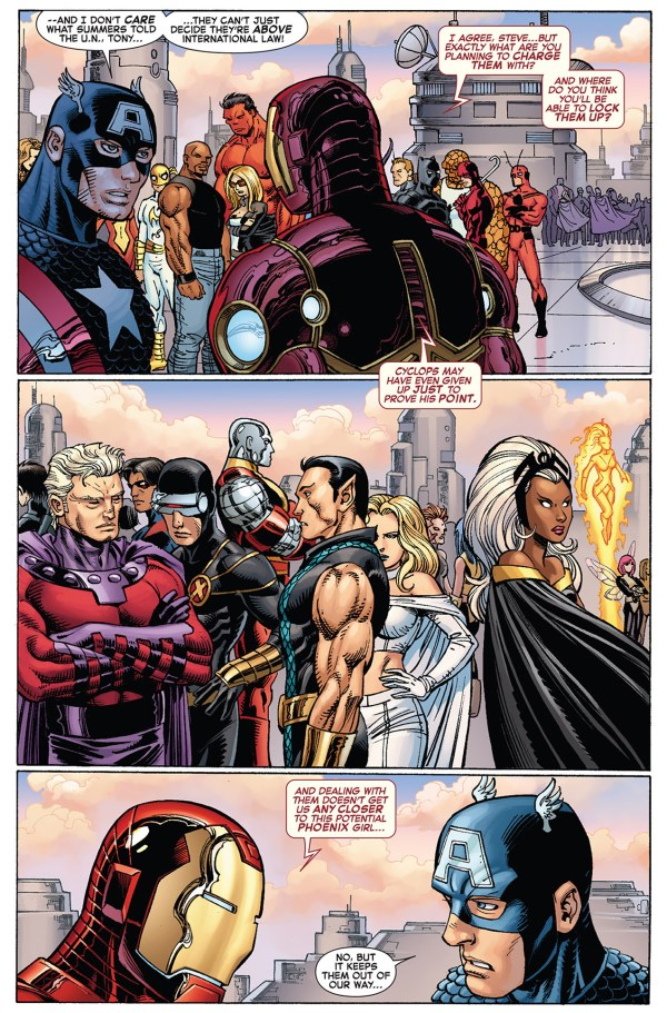 how the x-men escaped the avengers