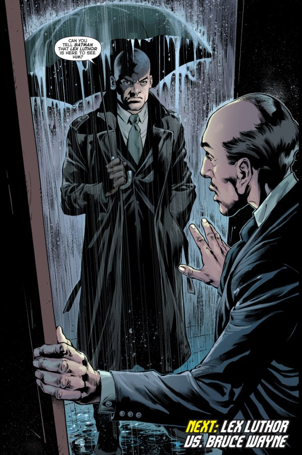 lex luthor visits wayne manor
