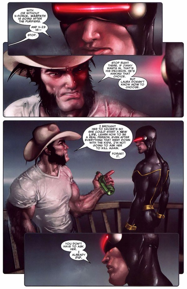 why cyclops reformed x-force