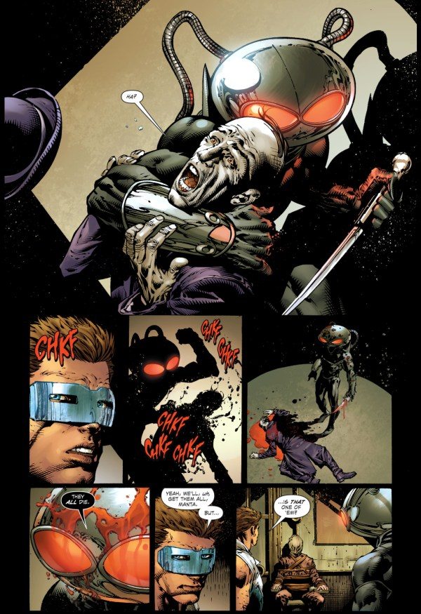 black manta kills the outsider