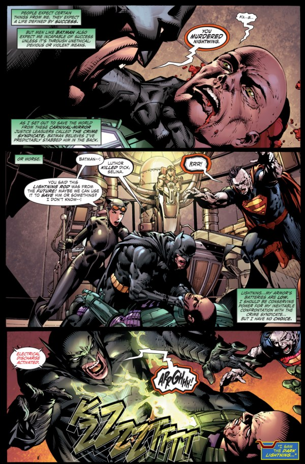 how lex luthor saved nightwing from the murder machine