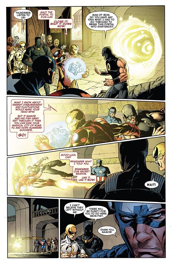 phoenix five namor destroys wakanda