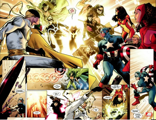 the x-men hunts down the avengers