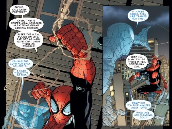 superior spider-man delegates tasks to the police