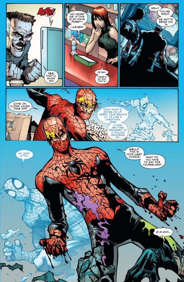 superior spider-man vs jester and screwball