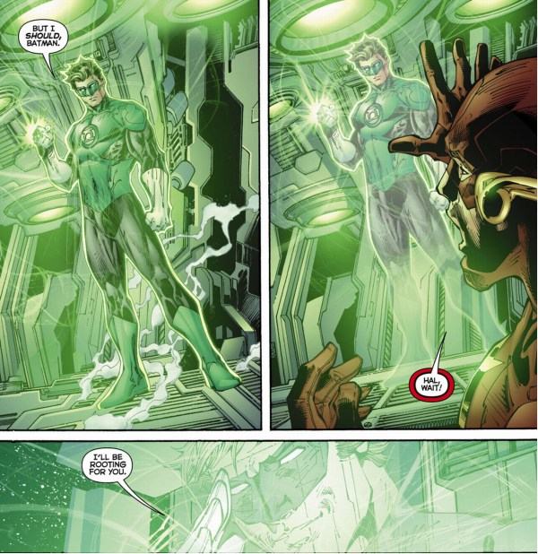 why green lantern quit the justice league